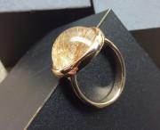 Ring goud met edelsteen